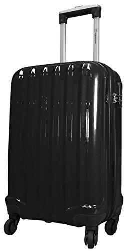 Miami Noir Taille L Carbon/ABS rigide Valise à roulettes en polycarbonate Case FA. Valise bowatex