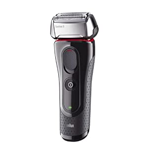 Braun Series 5 5050cc - shaver - red/black