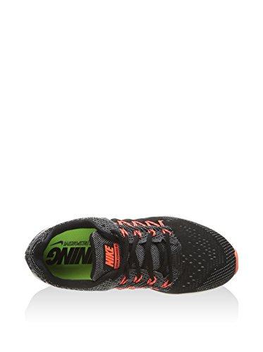 Nike Wmns Air Zoom Vomero 10, Scarpe da Corsa Donna Nero (Nero / Bianco-Sail-Hyper arancione)