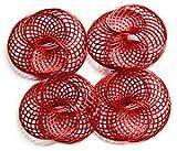 The Wire Man - Adorno alambre bre rojo 25mm-12ud