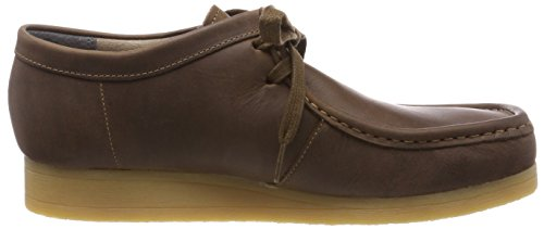 Clarks Stinson Lo, Derbys Homme Marron (Beeswax Leather)