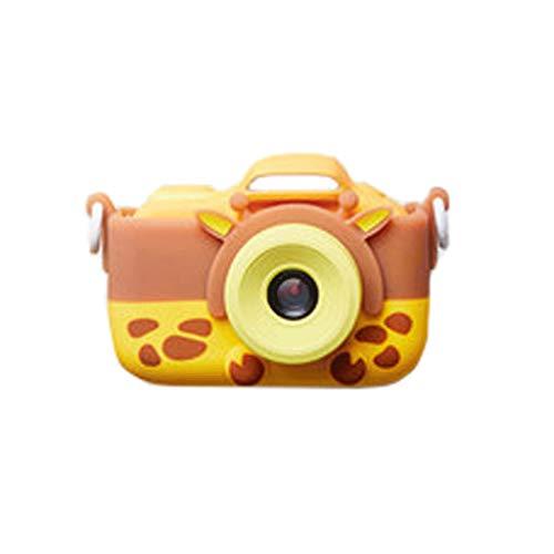 El Juguete de la cámara Digital para niños Puede Tomar Fotos Video bebé fotografía Mini HD Regalo de cumpleaños para niños en Vacaciones (Color : Orange, Size : 8GB)