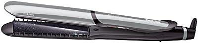 BaByliss IPro 235 XL – Plancha de pelo profesional, iónica, funciones Protección & Intenso, Wet&Dry,  placas flotantes de cerámica, 6 temperaturas 140º-235º