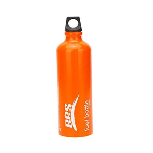 SUNRIS 0.53l/0.75l Benzina Alcol Liquido Olio Bottiglia di Sicurezza a Gas Stufa a Gas Oil Contenitore per Campeggio all' Aperto
