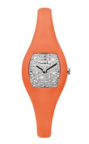 glamour-time-smarty-sw088i-glamour-montre-femme-cadran-argent-bracelet-en-silicone-orange