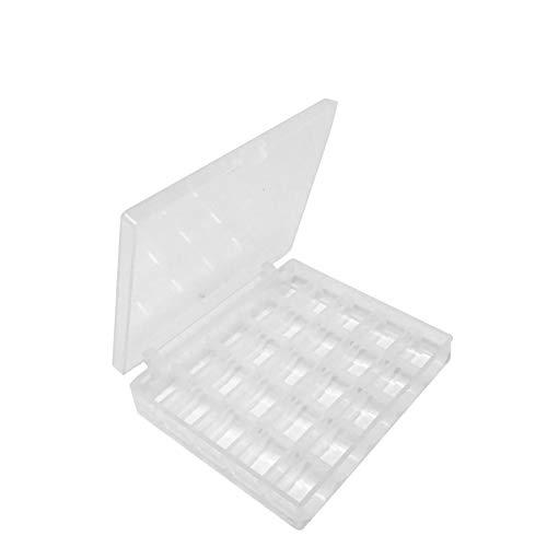 Quilted Bear Premium Spulenbox - Platz für 25 Einzelspulen