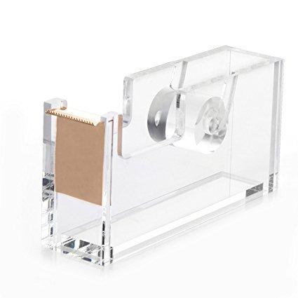 HBF desk organiser (Rose Gold Tape Dispenser)