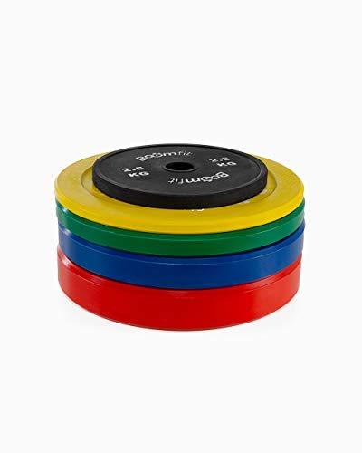 Boomfit Discos Olimpicos de Competición 50mm - 2,5/20 Kg