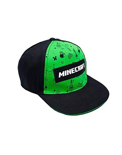 Vanilla Underground Minecraft Creeper All Over Print Boys/Youth Snapback Cap (M-L) Chino Youth Cap
