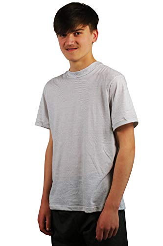 Shield EMFs with This Attractive T-Shirt, Herren, weiß, XX-Large Cell-shield