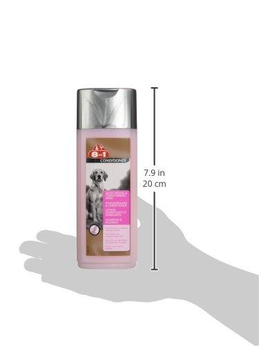 8in1 Pflegespülung und Conditioner für Hunde (für sprödes und widerspenstiges Hundefell), 250 ml Flasche - 3