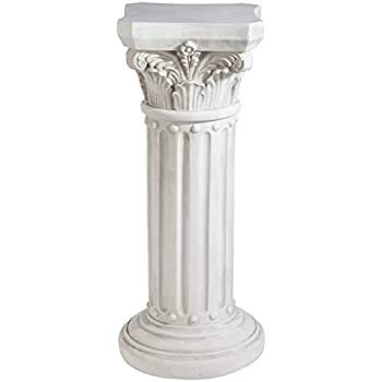Design Toscano Athena Corinthian Furniture Pedestal Column