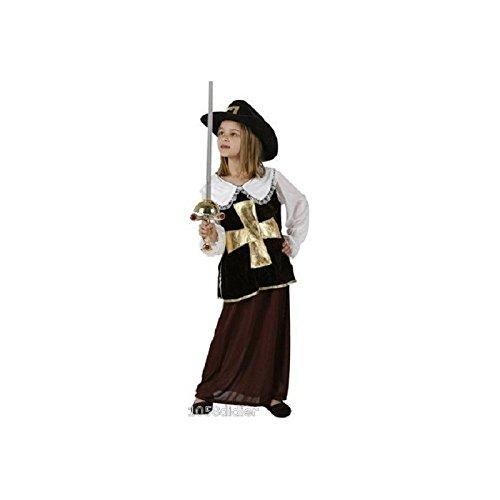 Kostüm Mädchen Musketier (Musketiere Kostüm Für Mädchen)
