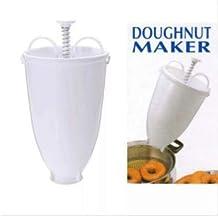 zhiwenCZW Plástico Donut Donut Maker Bateador Dispensador DIY Herramientas para Hornear