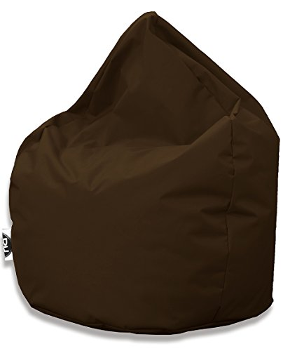 Sitzsack Tropfenform für In & Outdoor | XXL 420 Liter - Braun - in 25 versch. Farben und 3 Größen