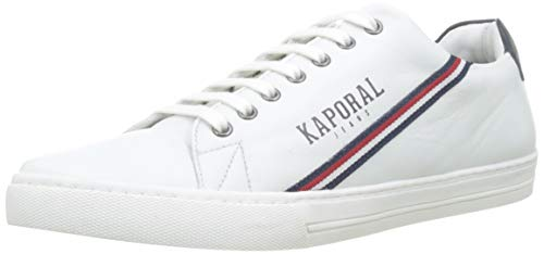Kaporal LIENOR, Baskets Hommes, (Blanc 70), 44 EU