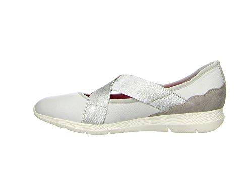 Tamaris 1-24638-28 femmes Ballerine Weiß