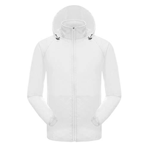 friendGG Frauen MäNner Cooling Jacket Fan Sommer Outdoor Klimatisierte Kleidung Herren Arbeit Bluse Damen Freizeit Sonnencreme Mit Two (Mng Kleidung)