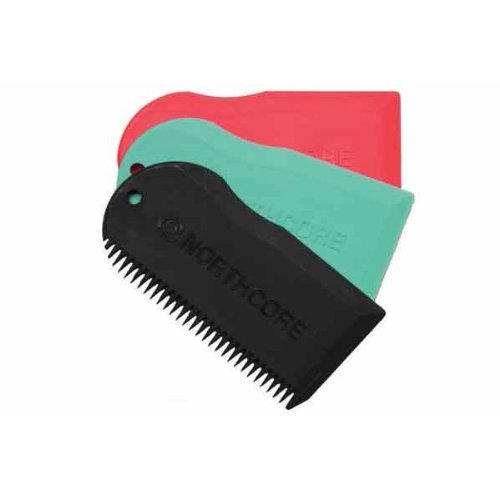Northcore Surfboard Wax Comb Red