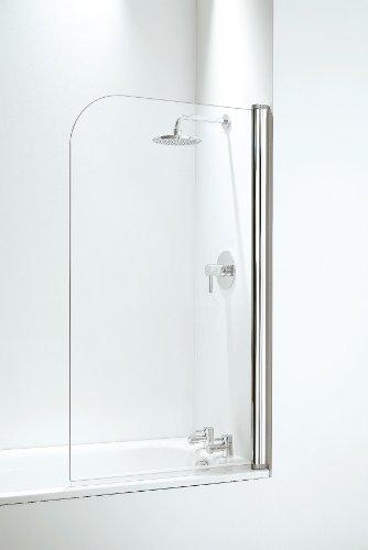 Croydex Dichtungskit für Duschkabine/Badewannenaufsatz für Spalten von 8-18mm, 1000mm, transparent