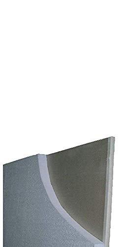 9 pannelli 1200x1000 mm (mq 10,8) ISOLANTE TERMOACUSTICO:LANTIRUMORE CLIMAGIPS SP. 50 mm lastra di cartongesso preaccoppiato su di un lato con polistirene espanso estruso