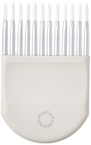Plaid Enterprises Inc. Martha Stewart verstellbar Striping Pinsel (Paint Striping)