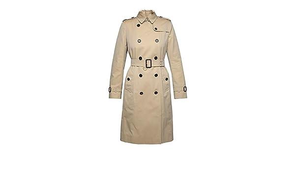ccdcf8d42fea8e BURBERRY Femme 400690570500 Beige Coton Trench Coat  Amazon.fr  Vêtements  et accessoires