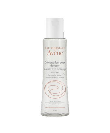 AVÈNE GENTLE EYE MAKE-UP REMOVER Removes even waterproof make-up / GENTLE EYE MAKE-UP REMOVER entfernt auch wasserfestes Make-up 125 ml Made in Frankreich