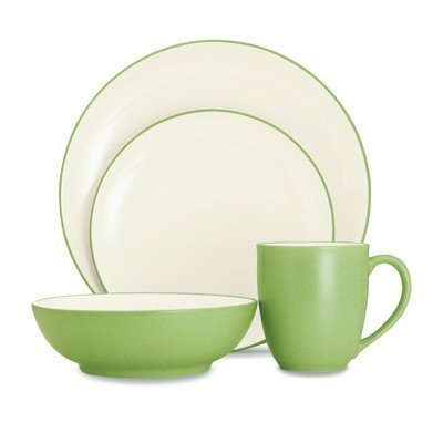 Noritake Colorwave Apple Coupe 4 Piece Place Setting by Noritake Apple Coupe