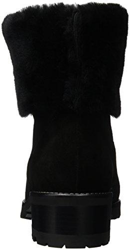Peter Kaiser Bens, Bottes courtes avec doublure chaude femme Noir - Schwarz (SCHWARZ SUEDE SMOOTH 665)