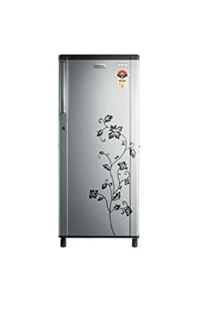 Electrolux 215 L 5 Star Direct-Cool Single Door Refrigerator (EBP225T-215L, Grey Floral)