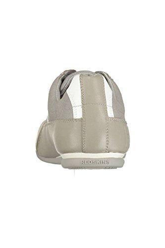 Redskins - Cuesty gris/blanc - Chaussures basses cuir ou simili Gris clair