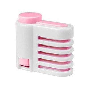 pittospwer DIY 5-Layer Bread Cake Slicer Schneidwerkzeug für Toast-Nivelliermaschinen White-pink