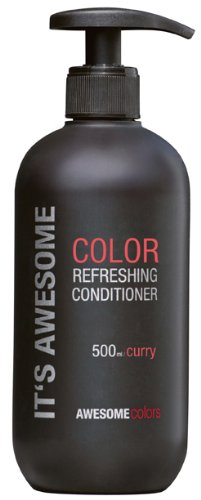 Awesome Colors Color Refreshing Conditioner Curry, 500 ml - Klimaanlage Color-glanz