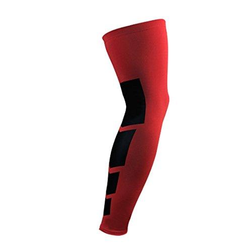 Knieschützer Kompression Long Leg Sleeve Schutz Gear Knieschützer Bewertung und Vergleich