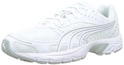 Puma Axis, Scarpe Sportive Indoor Unisex-Adulto, Bianco White-High Rise, 42 EU