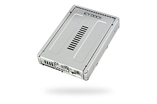 Icy Dock EZConvert Pro MB982SPR-2S R1 - 2x 2,5 Zoll (6,4cm) zu 3,5 Zoll (8,9cm) SATA SSD/HDD RAID Konverter - Vollmetall