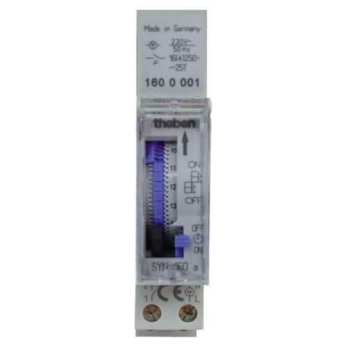 Theben - SYN 160 A - Horloge programmable analogique (Import Allemagne)