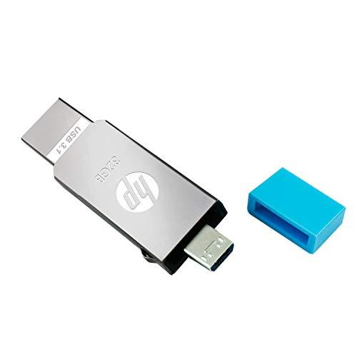 HP V302M USB 3.1 32GB Pen Drive (Silver)