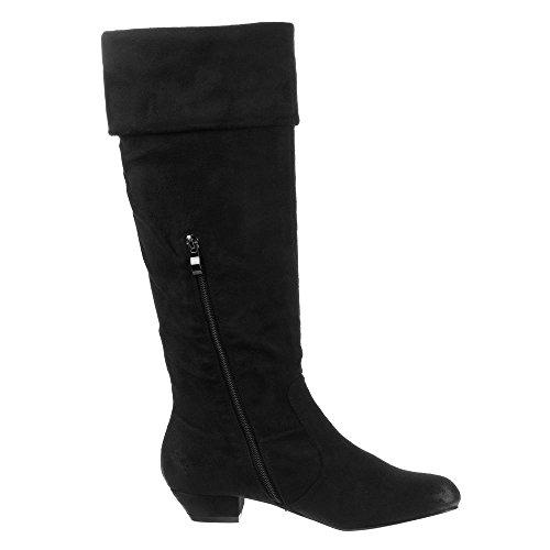 Damen Schuhe, 20-M32281A, STIEFEL Schwarz