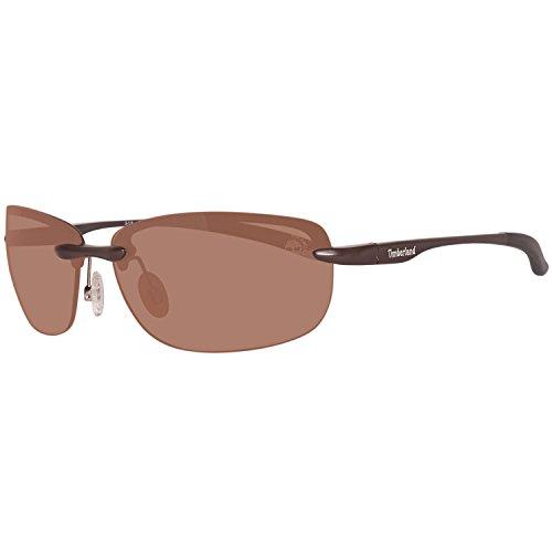 Timberland sonnenbrille tb9051 6549h, occhiali da sole uomo, marrone (braun), 65