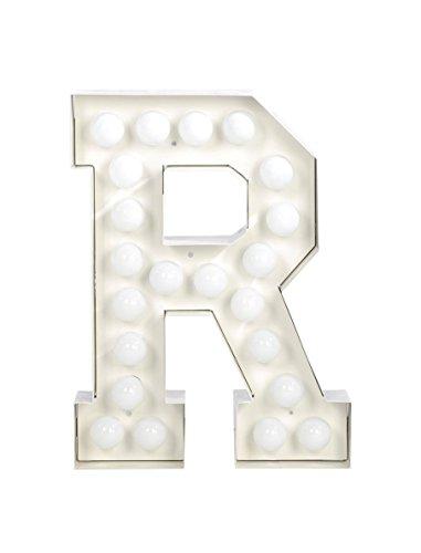 VEGAZ - Lampe à poser Lettre Géante R | Lampe à poser Seletti designé par Selab