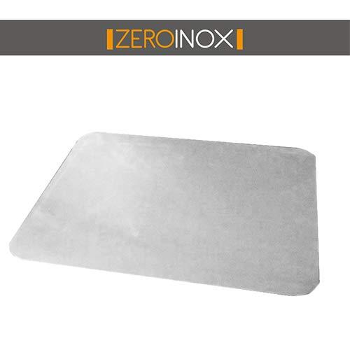 Tagliere in Acciaio Inox Varie Misure per Proteggere Il Piano della Cucina - Acciaio Inox AISI 304 (L30 X P40)
