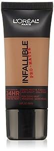L'Oreal Paris Cosmetics Infallible Pro-Matte Foundation Makeup - Classic Tan