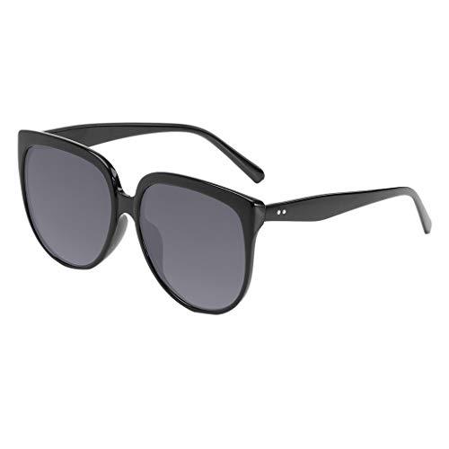 SCEMARK Mode Sonnenbrillen Mann Frauen unregelmäßige Form Sonnenbrille Brille Vintage Retro Style