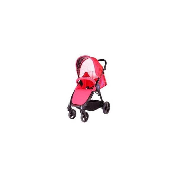 iSAFE Sail Stroller - 7 Colours! (Red) iSafe Media Viewing Extendable Hood Light Weight Sturdy Structure 2