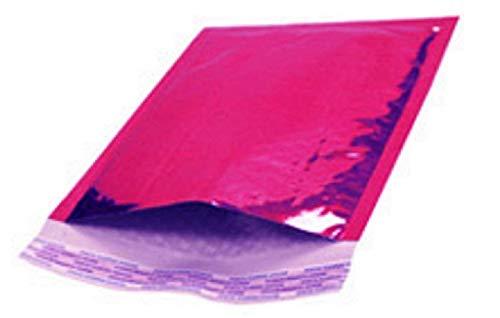 Luftpolsterversandtaschen, 5 x 9 cm, 20 Stück Gepolsterte Briefumschläge, haftklebend, 12,7 x 22,9 cm, Hot Pink Hochwertige, laminierte Versandtaschen zum Verpacken und Verpacken. Großhandelspreis. (4x6 Gepolsterte Umschläge)