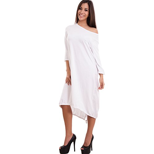 Toocool - Robe - Colonne - Femme Blanc