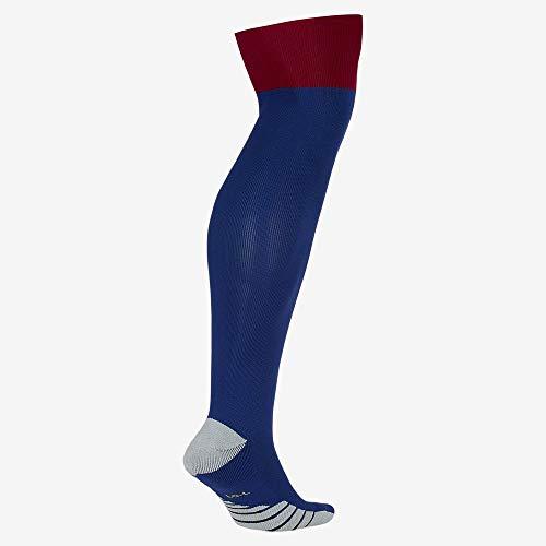 Nike Unisex-Erwachsene FCB U Nk Stad OTC Sock Hm, tiefes Königsblau/Edelrot/Varsity-Mais, L