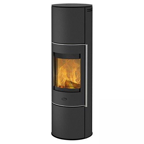 Fireplace K5950 Trondol Wasserführender Kaminofen Stahl Schwarz